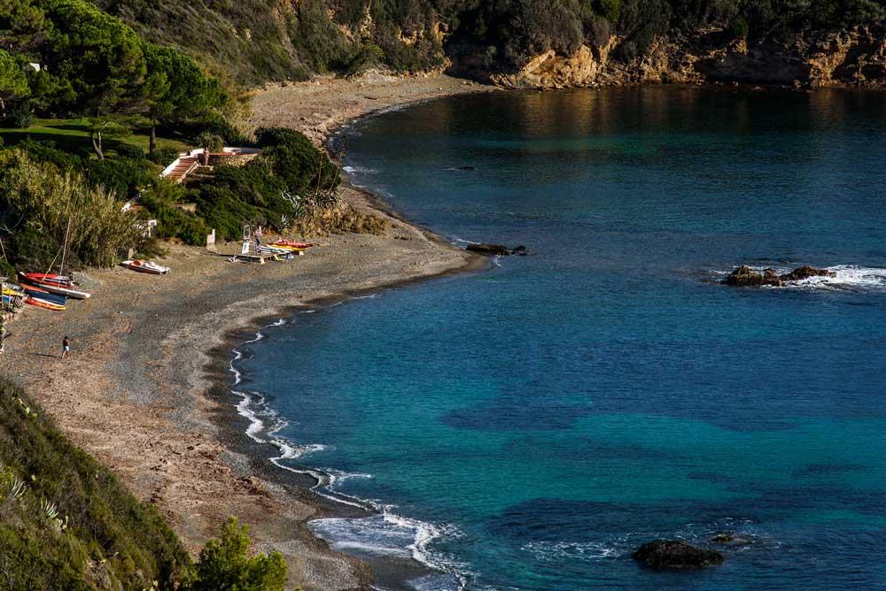 Вид на пляж Норси