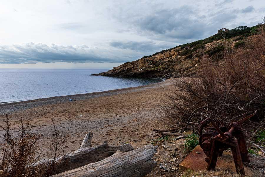 пляж Ремаёло на острове Эльба