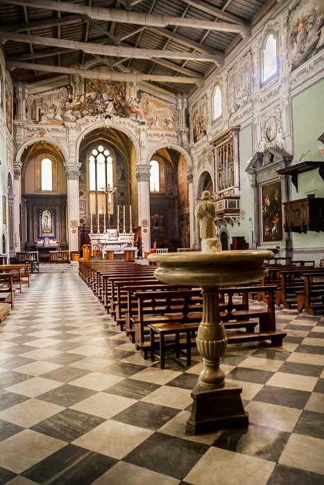 Сан Миниато церковь Сан Доменико внутри