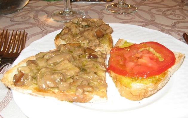 закуска - традиция в еде у итальянцев