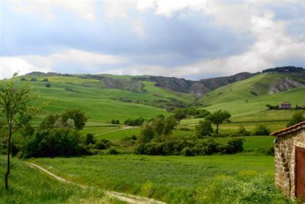 пейзаж в Тоскане