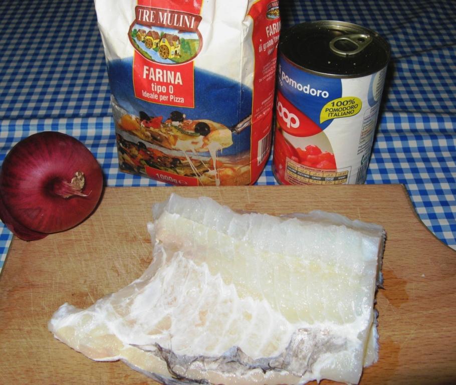 продукты для приготовления баккала