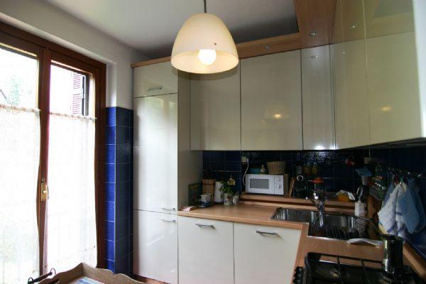 в квартире отдельная кухня