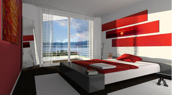видовая спальня
