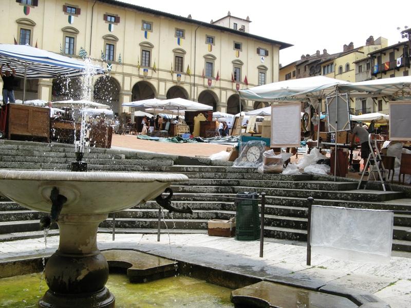 фонтан на Главной площади