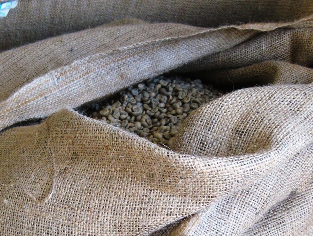 мешок с кофейными зёрнами