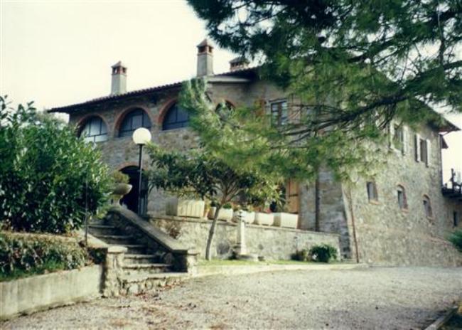 дорога в поместье Тосканы