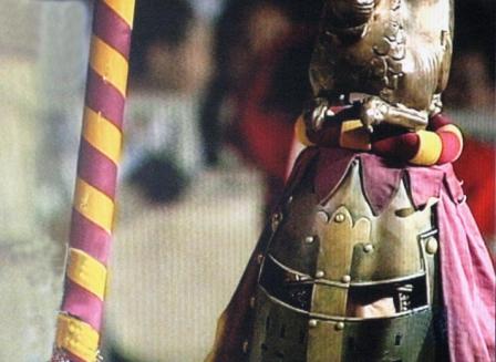 доспехи у рыцаря