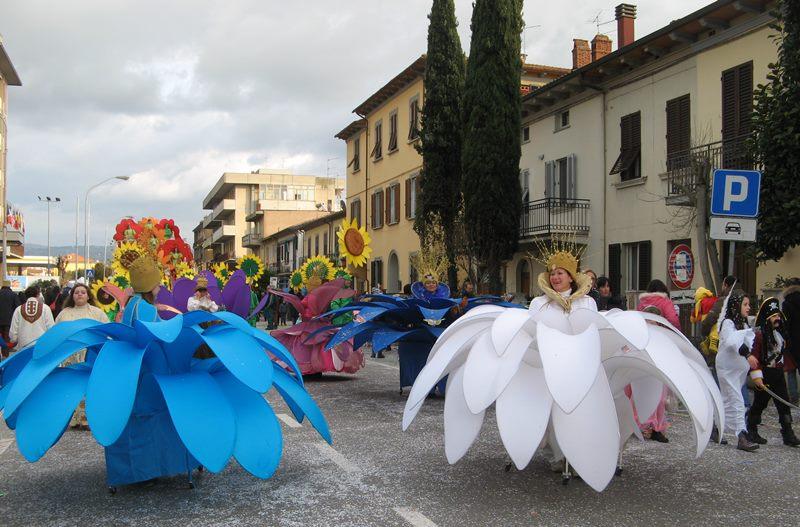 карнавал в Ареццо, Тоскана, Италия
