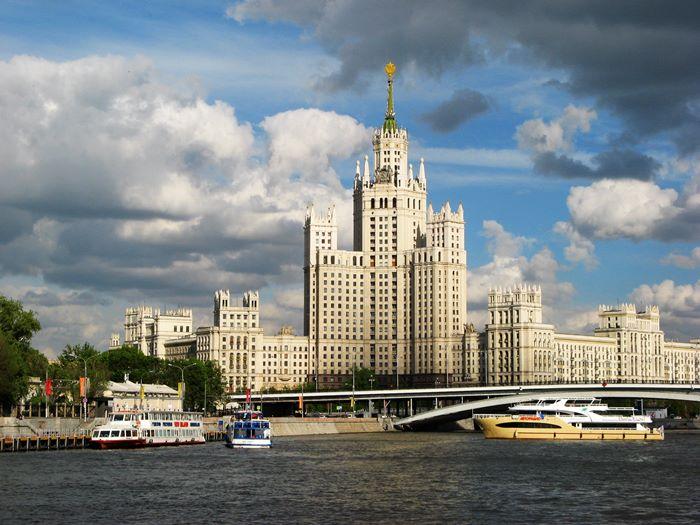 вид с Москва-реки