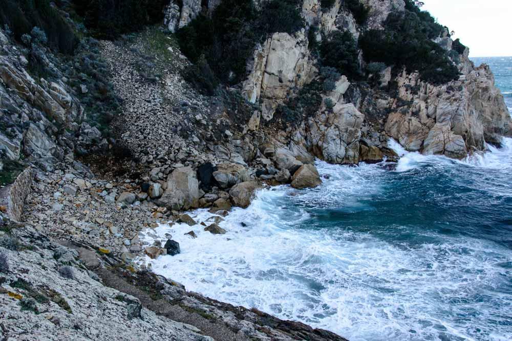 пляж Крочетта на Эльбе в Италии