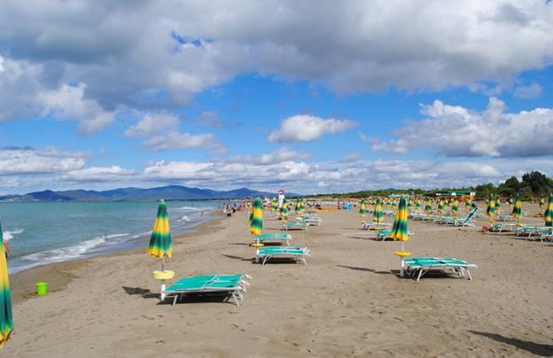 пляж в Принчипина а маре